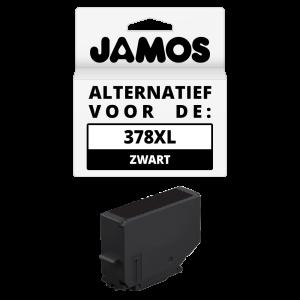 JAMOS Inktcartridge Alternatief voor de Epson 378XL Zwart