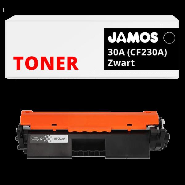 Jamos Tonercartridge Alternatief voor de HP 30A Zwart CF230A