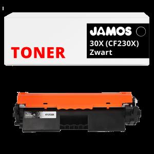 Jamos Tonercartridge Alternatief voor de HP 30X Zwart CF230X