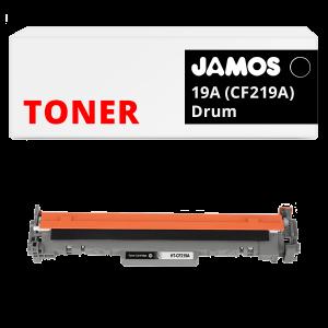 JAMOS Drum Alternatief voor de HP 19A CF219A Zwart