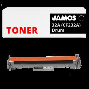 JAMOS Drum Alternatief voor de HP 32A CF232A Zwart