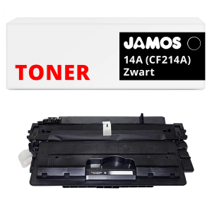 Jamos Tonercartridge Alternatief voor de HP 14A CF214A Zwart
