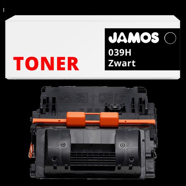 JAMOS Tonercartridge Alternatief voor de Canon 039H Zwart