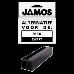 JAMOS Inktcartridge Alternatief voor de HP 913A Zwart