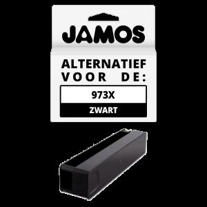 JAMOS Inktcartridge Alternatief voor de HP 973X Zwart