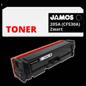 JAMOS Tonercartridge Alternatief voor de HP 205A CF530A Zwart
