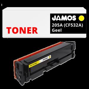JAMOS Tonercartridge Alternatief voor de HP 205A CF532A Geel