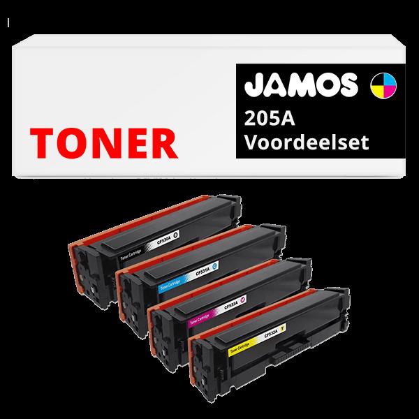JAMOS Tonercartridges Alternatief voor de HP 205A Voordeelset