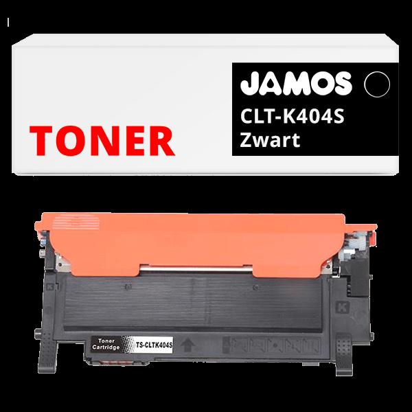 JAMOS Tonercartridge Alternatief voor de Samsung CLT-K404S Zwart