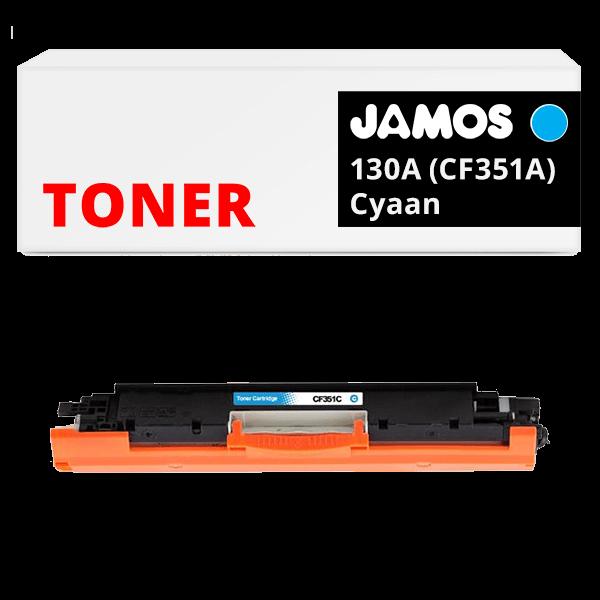 JAMOS Tonercartridge Alternatief voor de HP 130A Cyaan CF351A