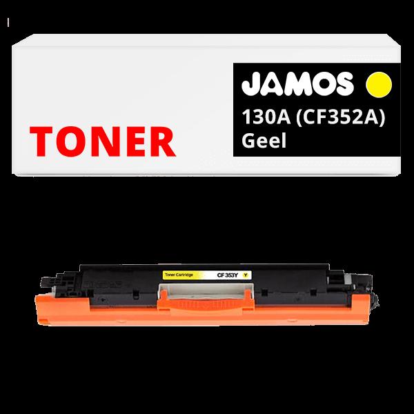 JAMOS Tonercartridge Alternatief voor de HP 130A Geel CF352A
