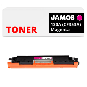 JAMOS Tonercartridge Alternatief voor de HP 130A Magenta CF353A