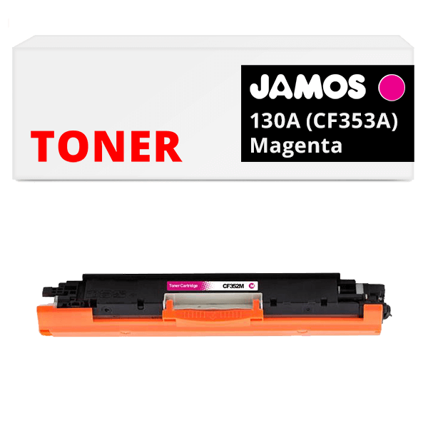JAMOS Tonercartridge Alternatief voor de HP 130A Magenta CF353A
