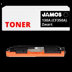 JAMOS Tonercartridge Alternatief voor de HP 130A Zwart CF350A