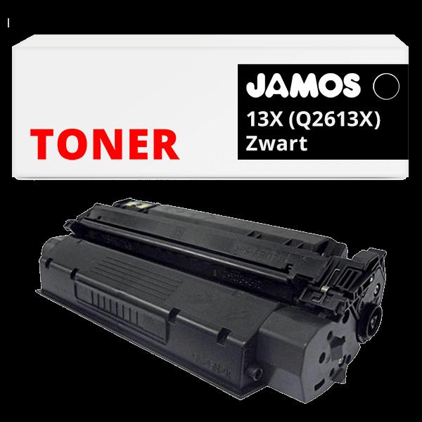 JAMOS Tonercartridge Alternatief voor de HP 13X Zwart Q2613X