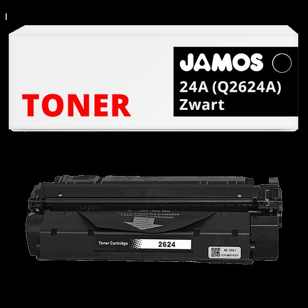 JAMOS Tonercartridge Alternatief voor de HP 24A Zwart Q2624A
