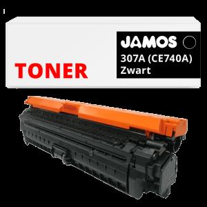 JAMOS Tonercartridge Alternatief voor de HP 307A Zwart CE740A