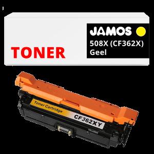 JAMOS Tonercartridge Alternatief voor de HP 508X Geel CF362X