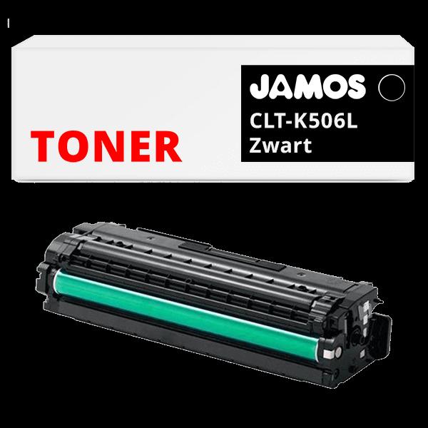 JAMOS Tonercartridge Alternatief voor de Samsung CLT-K506L Zwart