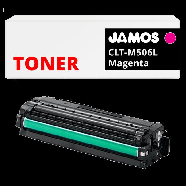 JAMOS Tonercartridge Alternatief voor de Samsung CLT-M506L Magenta