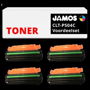 JAMOS Tonercartridges Alternatief voor de Samsung CLT-P504C Voordeelset