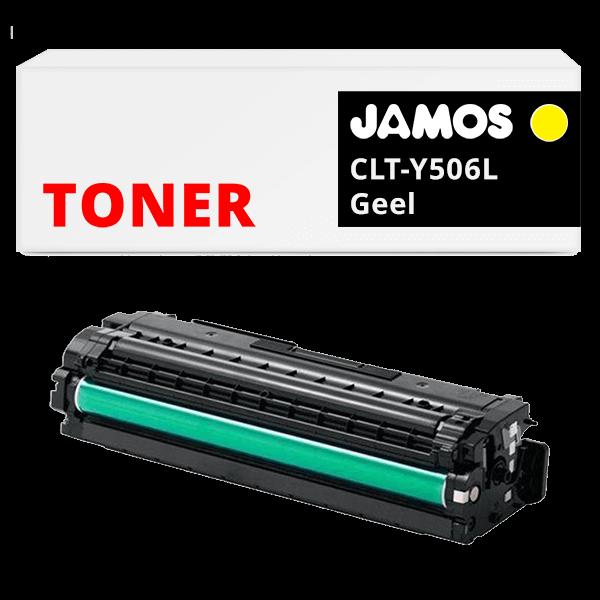 JAMOS Tonercartridge Alternatief voor de Samsung CLT-Y506L Geel