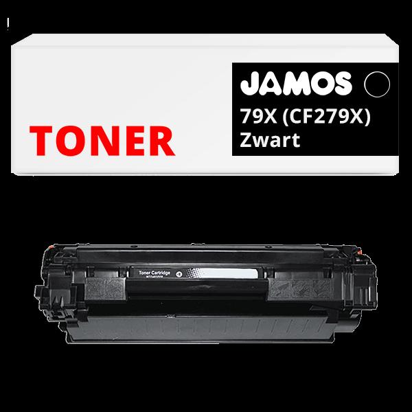 JAMOS Tonercartridge Alternatief voor de HP 79X CF279X Zwart