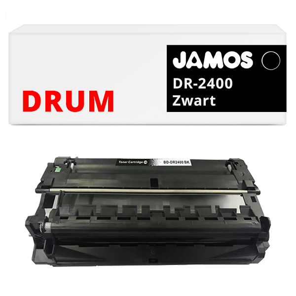 JAMOS Drum Alternatief voor de Brother DR-2400 Zwart