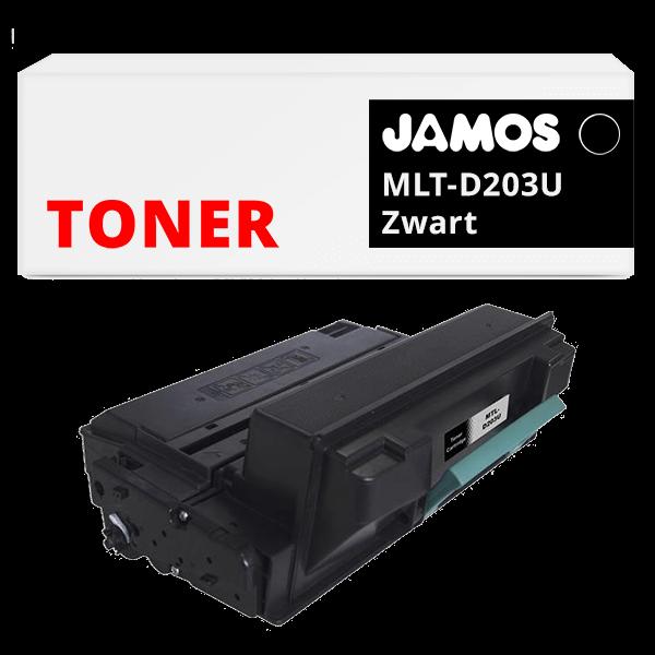 JAMOS Tonercartridge Alternatief voor de Samsung MLT-D203U Zwart