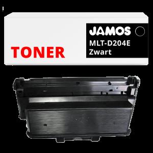 JAMOS Tonercartridge Alternatief voor de Samsung MLT-D204E Zwart