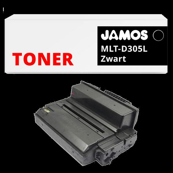 JAMOS Tonercartridge Alternatief voor de Samsung MLT-D305L Zwart