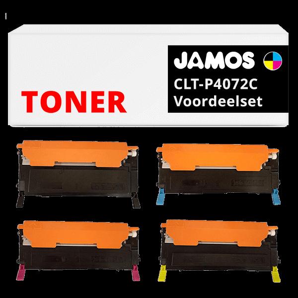 JAMOS Tonercartridge Alternatief voor de Samsung CLT-P4072C Voordeelset