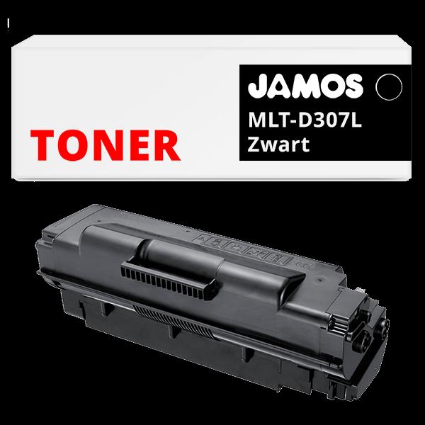 JAMOS Tonercartridge Alternatief voor de Samsung MLT-D307L Zwart