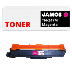 JAMOS Tonercartridge Alternatief voor de Brother TN-247M Magenta
