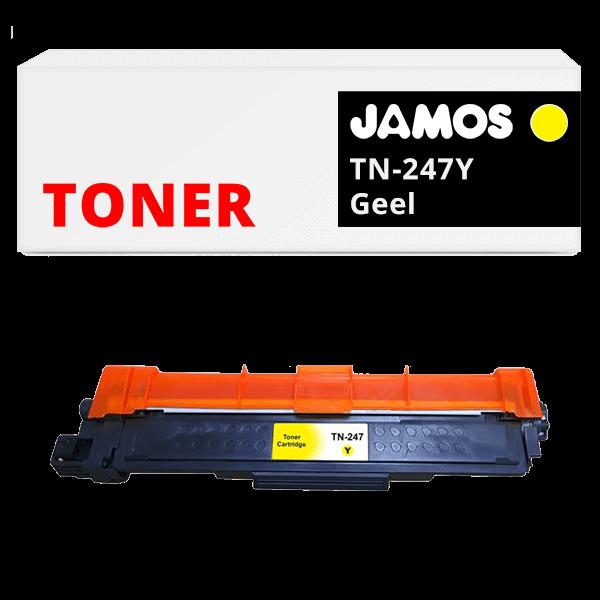 JAMOS Tonercartridge Alternatief voor de Brother TN-247Y Geel