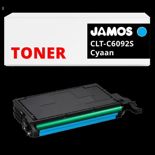JAMOS Tonercartridge Alternatief voor de Samsung CLT-C6092S Cyaan