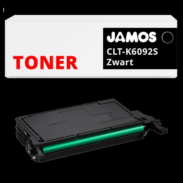 JAMOS Tonercartridge Alternatief voor de Samsung CLT-K6092S Zwart