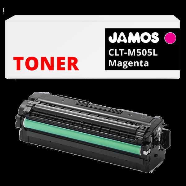 JAMOS Tonercartridge Alternatief voor de Samsung CLT-M505L Magenta