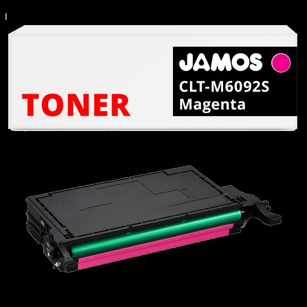 JAMOS Tonercartridge Alternatief voor de Samsung CLT-M6092S Magenta