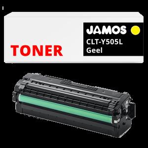 JAMOS Tonercartridge Alternatief voor de Samsung CLT-Y505L Geel