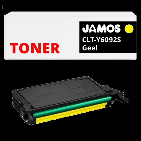 JAMOS Tonercartridge Alternatief voor de Samsung CLT-Y6092S Geel