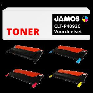JAMOS Tonercartridges Alternatief voor de Samsung CLT-P4092C Voordeelset