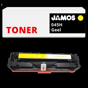 JAMOS Tonercartridge Alternatief voor de Canon 045H Geel