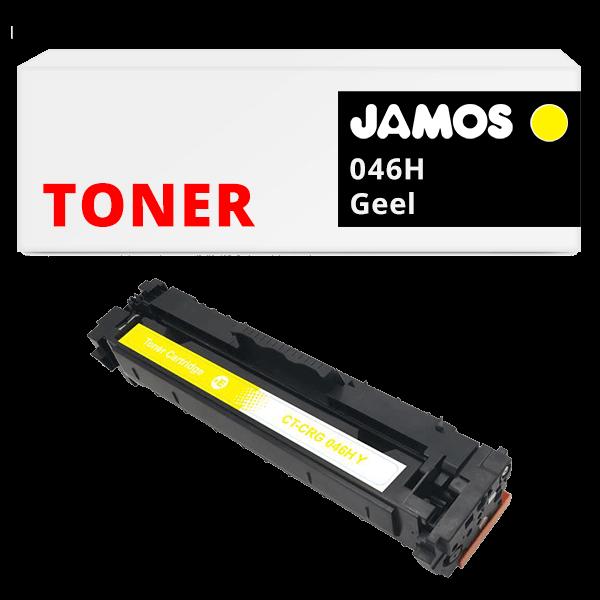 JAMOS Tonercartridge Alternatief voor de Canon 046H Geel