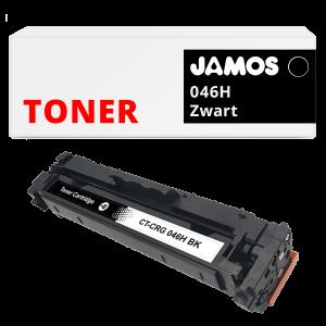 JAMOS Tonercartridge Alternatief voor de Canon 046H Zwart