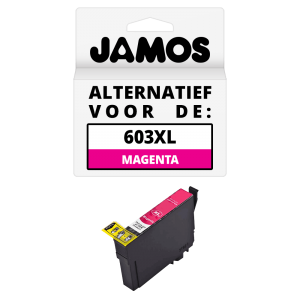 JAMOS Inktcartridge Alternatief voor de Epson 603XL Magenta