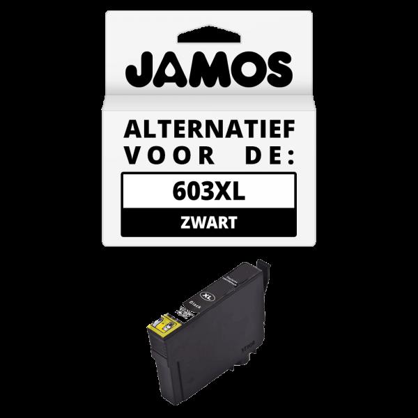 JAMOS Inktcartridge Alternatief voor de Epson 603XL Zwart