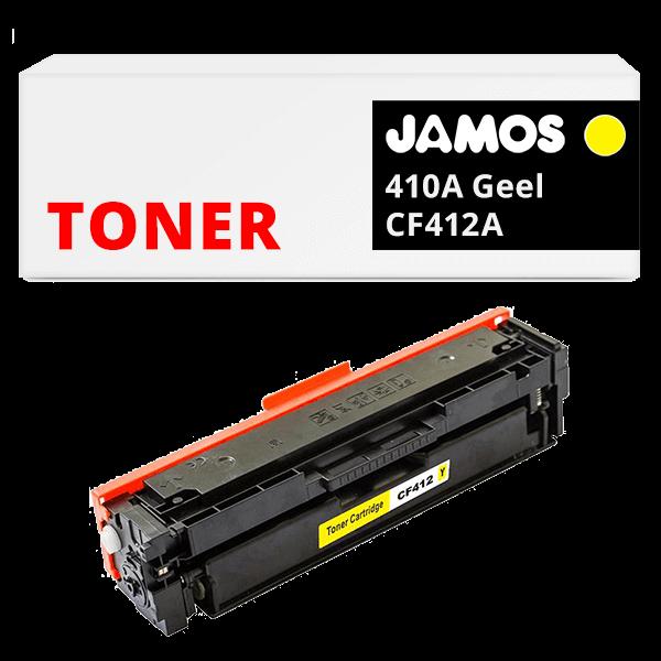 JAMOS Tonercartridge Alternatief voor de HP 410A Geel CF412A
