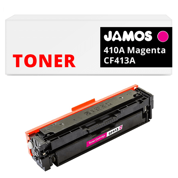 JAMOS Tonercartridge Alternatief voor de HP 410A Magenta CF413A