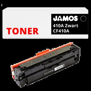 JAMOS Tonercartridge Alternatief voor de HP 410A Zwart CF410A